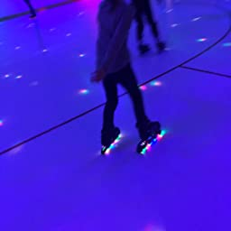 Amazon Com Woolitime Sports Adjustable Blades Roller Skates For Boys And Kids With Featuring All Illuminating Wheels Safe And Durable Inline Skates Fashionable Roller Skates For Women Youth And Adults Sports