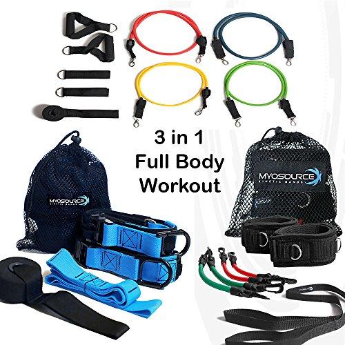 full body suspension training kit - 5