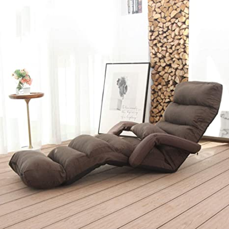 Lounge Chair Indoor Folding Lazy Sofa Chair Stylish Sofa Couch Beds Lounge Chair W Pillow Chair Bed Chaise Lounge Indoor Video Game Chair Color B Amazon Ca Home Kitchen