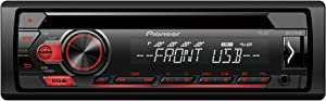 Pioneer DEH-S110UB CD Player with RDS Tuner, Android Control via USB and Aux-in