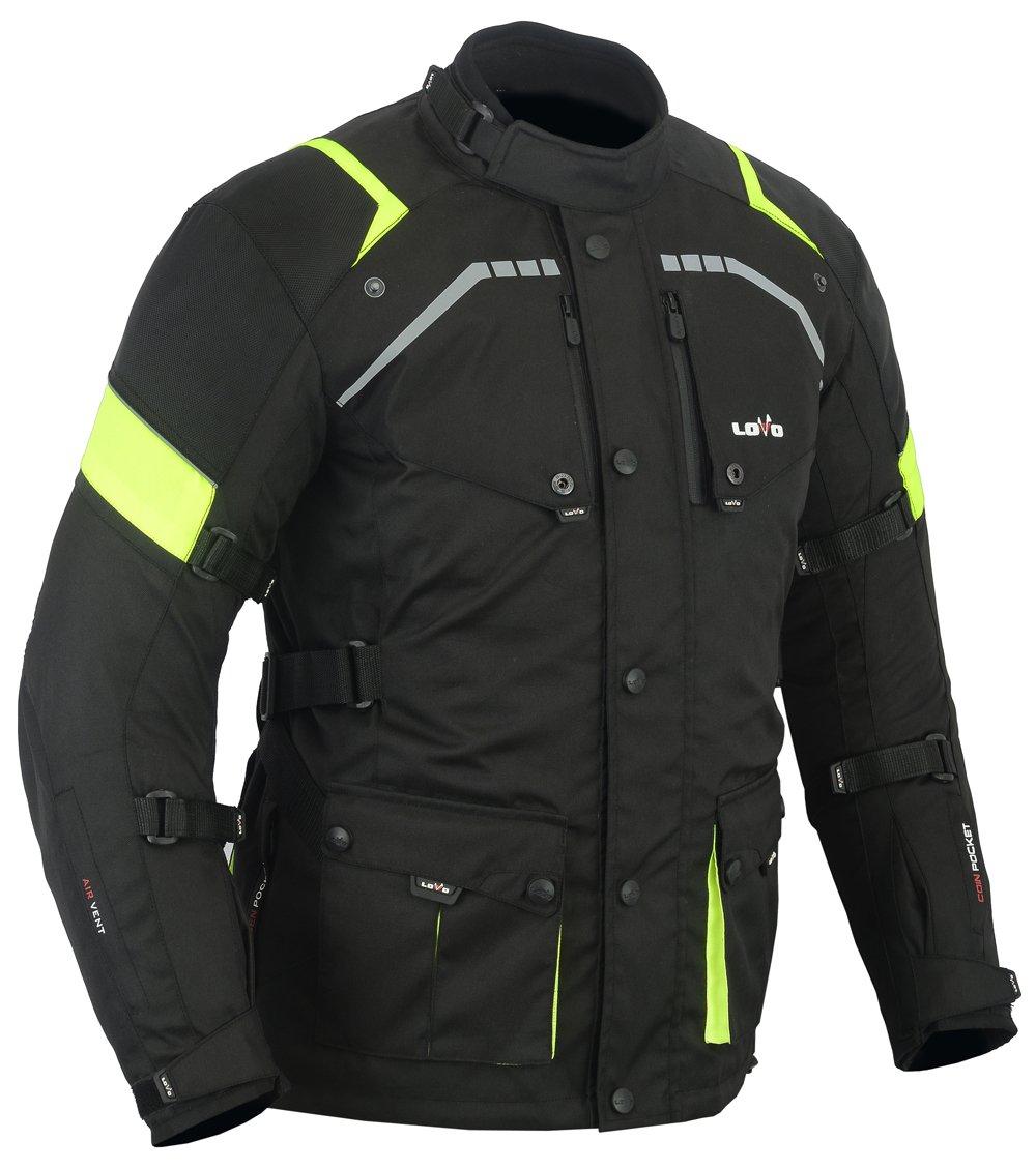 Chaqueta 3/4 para moto (Hombre) (M) LOVO LvR68-Highway_M