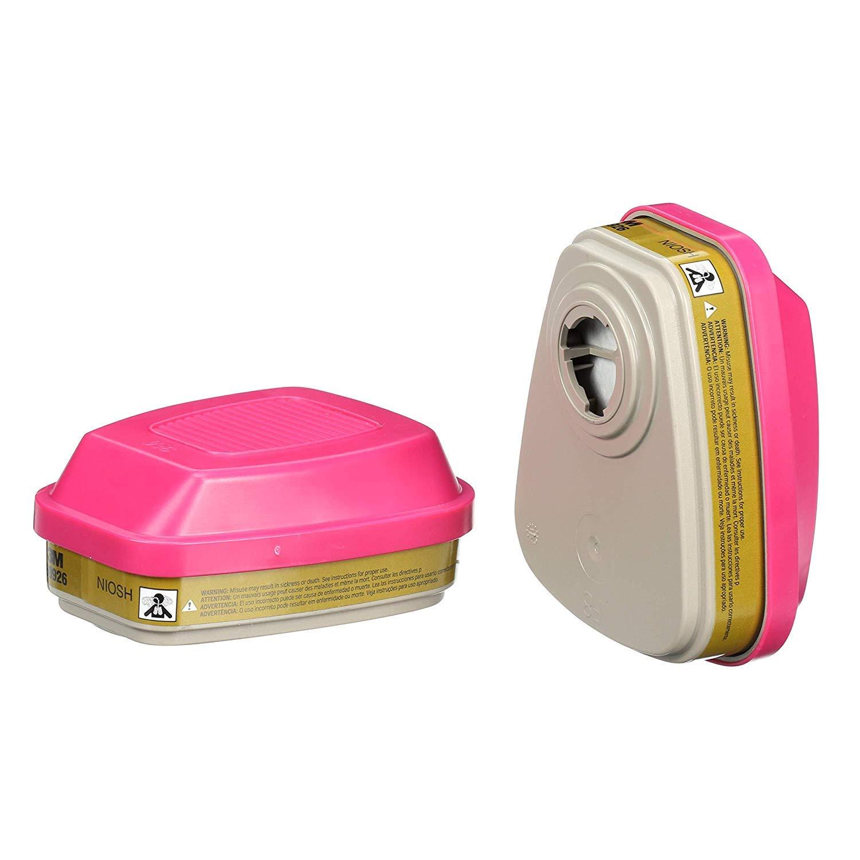 3M Multi Gas Vapor Cartridge, Filter 60926, P100 Respiratory Protection, 2 Sets of 2: Amazon.com: Industrial & Scientific