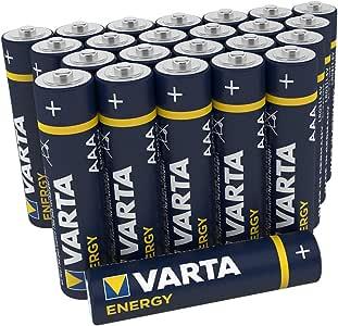 Vatra Energy - Pack de 24 Pilas Alcalinas AAA / LR03 / Micro: Amazon.es: Electrónica