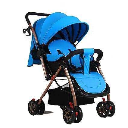 Olydmsky Carro Bebe,Luz de Cochecito de bebé Puede Sentarse en el Coche Paraguas Super