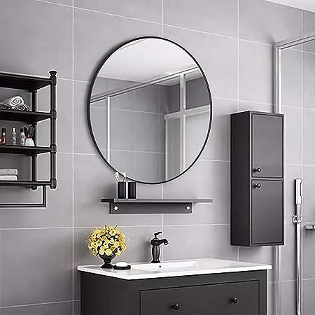 Simmer Stone Specchio rotondo da parete, con telaio in ...