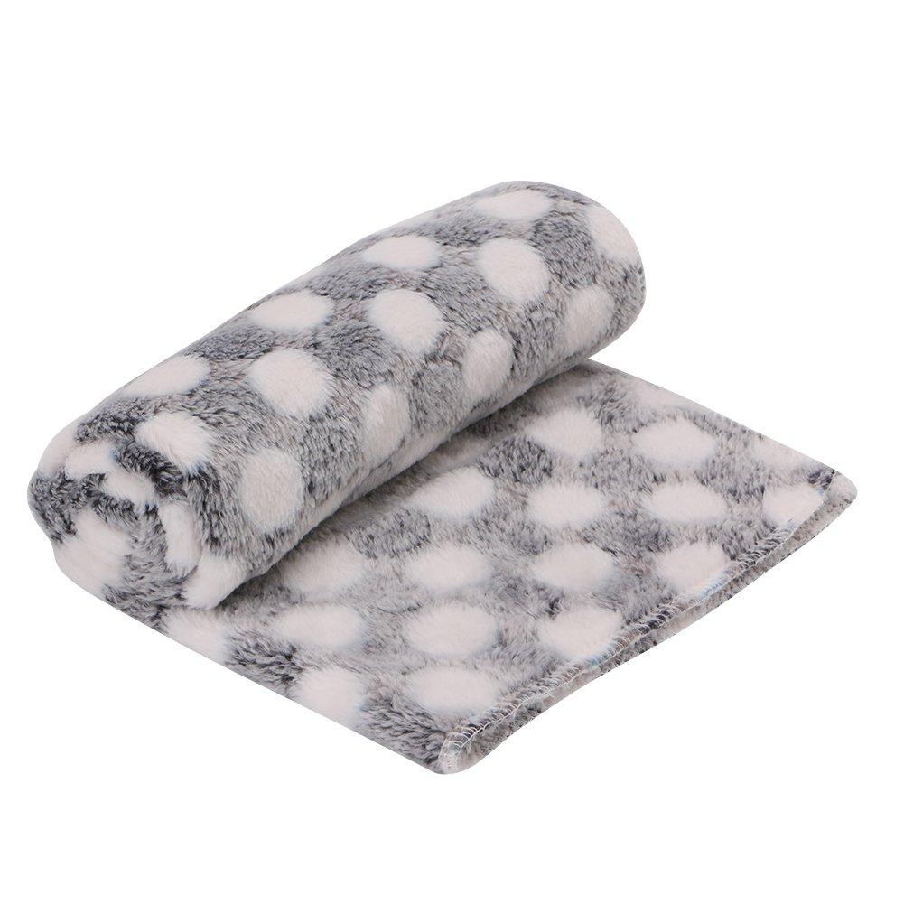 Biniwa Cartoon Washable Pet Blanket Soft Fleece Winter Warm Comfortable Dog Cat Sleep Bed Quilt Thick Nest Sleep Mat Cover Cushion