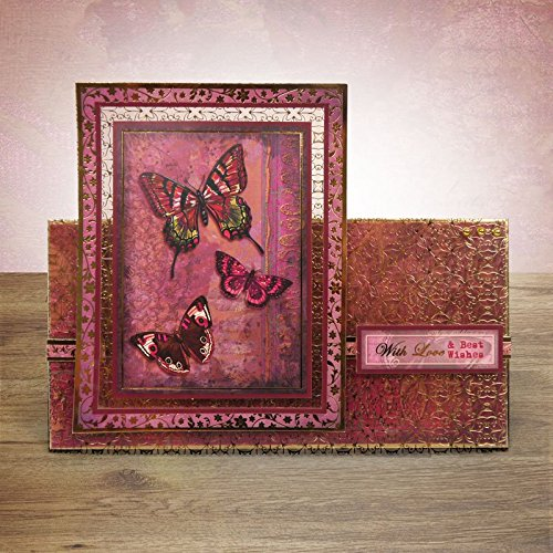 Hunkydory Flight of the Butterflies Jewelled Edition Luxury Foiled Acetate 16pc 220micron