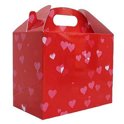 10 x Cajas de regalo / Gables Cajas / Cajas de fiesta / Bolsas de fiesta