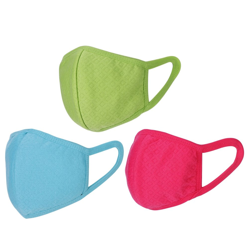 3D Anti-allergic PM2.5 Mouth Mask, 3pcs Dustproof Cold Virus Block Face Cotton Mouth Mask, PM2.5 Filter Anti Dust Mask Gas Pollution Mask, Health Care Anti-fog Haze Masks