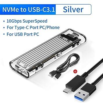 NVME M.2 SSD - Carcasa para disco duro de alto rendimiento ...