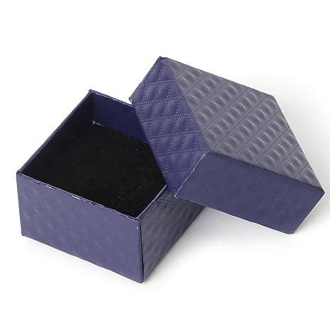 zrshygs Cajas de Regalo para Joyería Papel Cartón Joyería ...