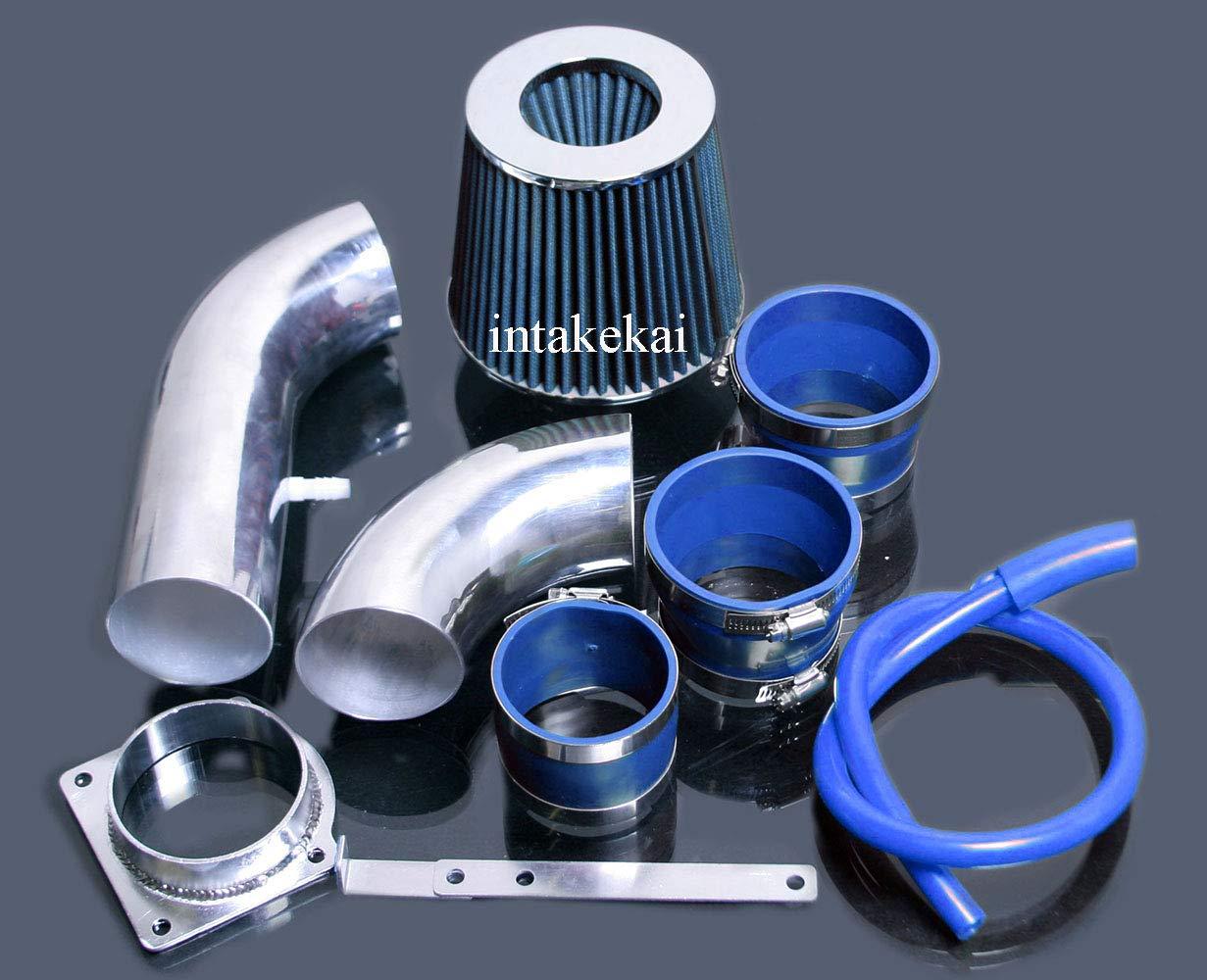 BLUE 2001-2003 MAZDA B4000 4.0 4.0L SOHC V6 ENGINE FILTER FOR 2001-2003 FORD EXPLORER//EXPLORER SPORT TRAC//RANGER PERFORMANCE COLD AIR INTAKE KIT