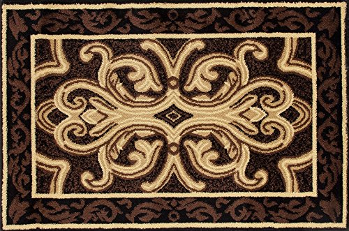 Art Carpet 841864119268 Hearth Rugs Collection, 2' x 3', Brown/Black from Art Carpet