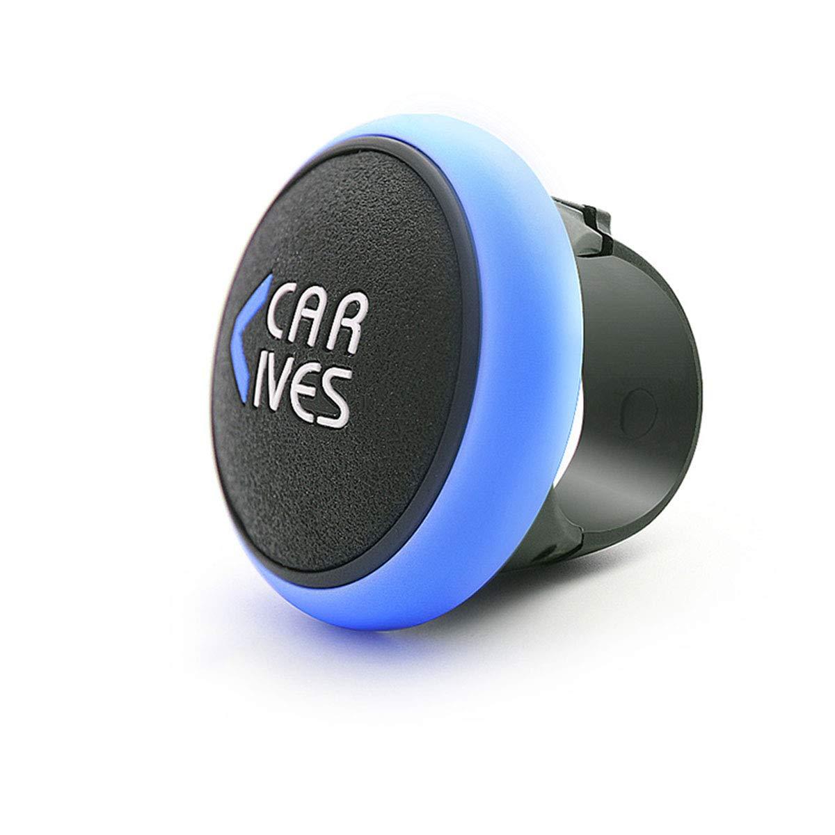Perilla giratoria del volante Manija el/éctrica universal Booster Booster de direcci/ón F/ácil instalaci/ón para todos los veh/ículos automotores,Blue