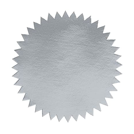 amazon com 2 inch blank embosser seals silver 500 pack paper