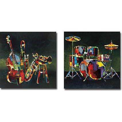 Amazon.com: Ensemble & Drum Set Elli John Milan 2-Piece ...