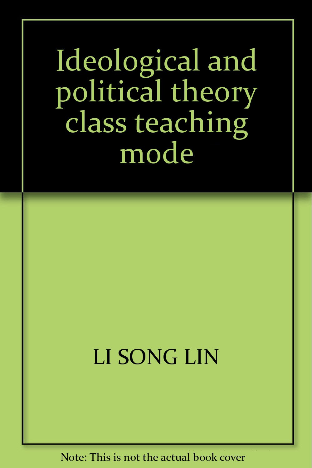 Read Online Ideological and political theory class teaching mode pdf