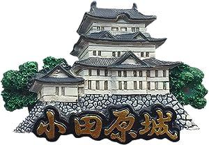 Odawara Castle Tokyo Japan 3D Fridge Magnet Travel Souvenir Gift Home Kitchen Decoration Magnetic Sticker Japan Refrigerator Magnet Collection
