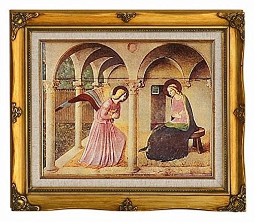 Annunciation Framed Art by Discount Catholic Store