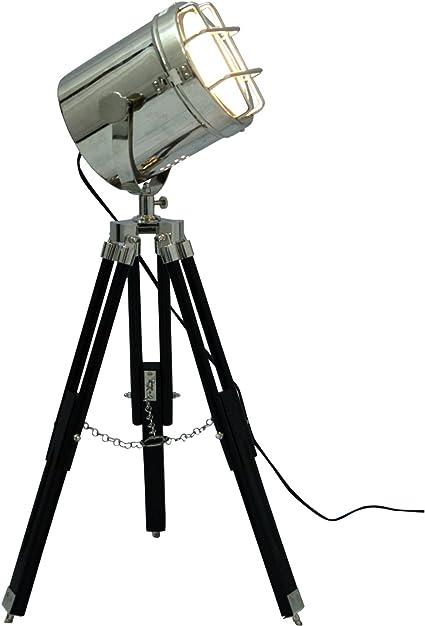 Comprar Lámpara de trípode de iluminación de dormitorio pequeño foco de luz de pie Lámparas de