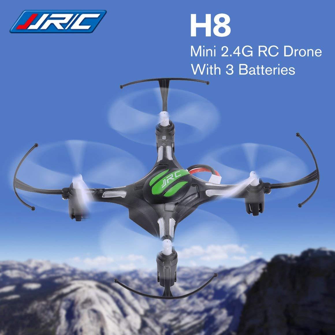 Funnyrunstore JJR / C H8 Mini 2.4G 4CH 6-Ejes Gyro Drone RC ...
