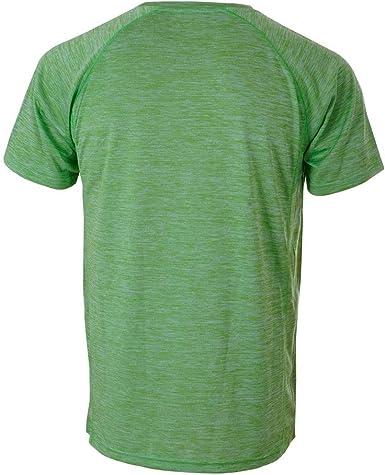 Siux Camiseta Special Verde Vigore Logo Amarillo : Amazon.es ...