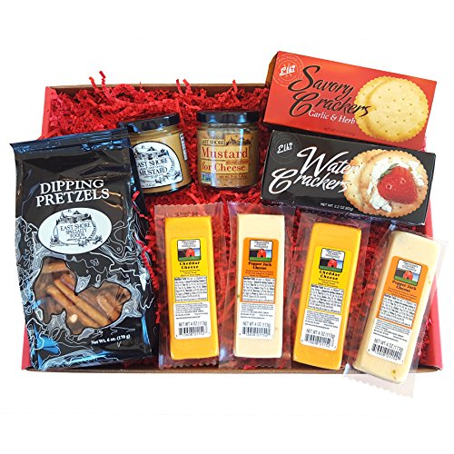 mancave-cheese-pretzels-gift-basket-features-100-wisconsin-cheeses-crackers-pretzels-mustard-great-f