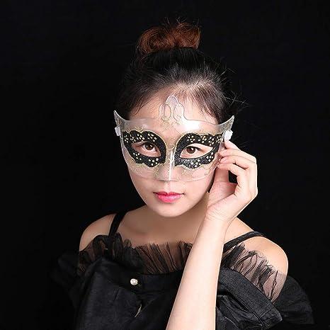 Mascara De La Mascarada,Venecia Parejas Halloween Party Black ...