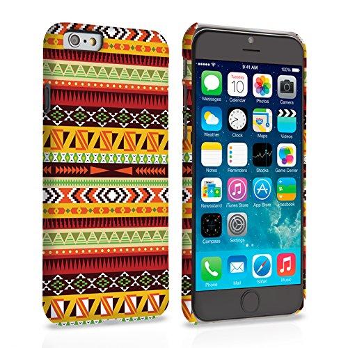 Caseflex iPhone 6 / 6S Hülle Mehrfarbig Aztekisch Earthy Hart Schutzhülle