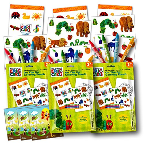 Eric Carle Coloring Resealable Separately