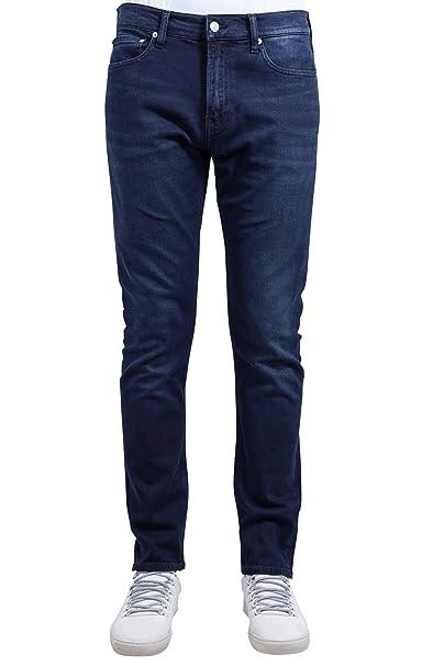 Calvin Klein Jeans Uomo Jeans Slim Fit CK026 BluNero
