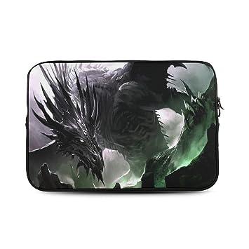 Reign Reina personalizado dragón negro Cool fondos - Funda blanda para portátil de 15, (dos lados) bolsa de ordenador: Amazon.es: Electrónica