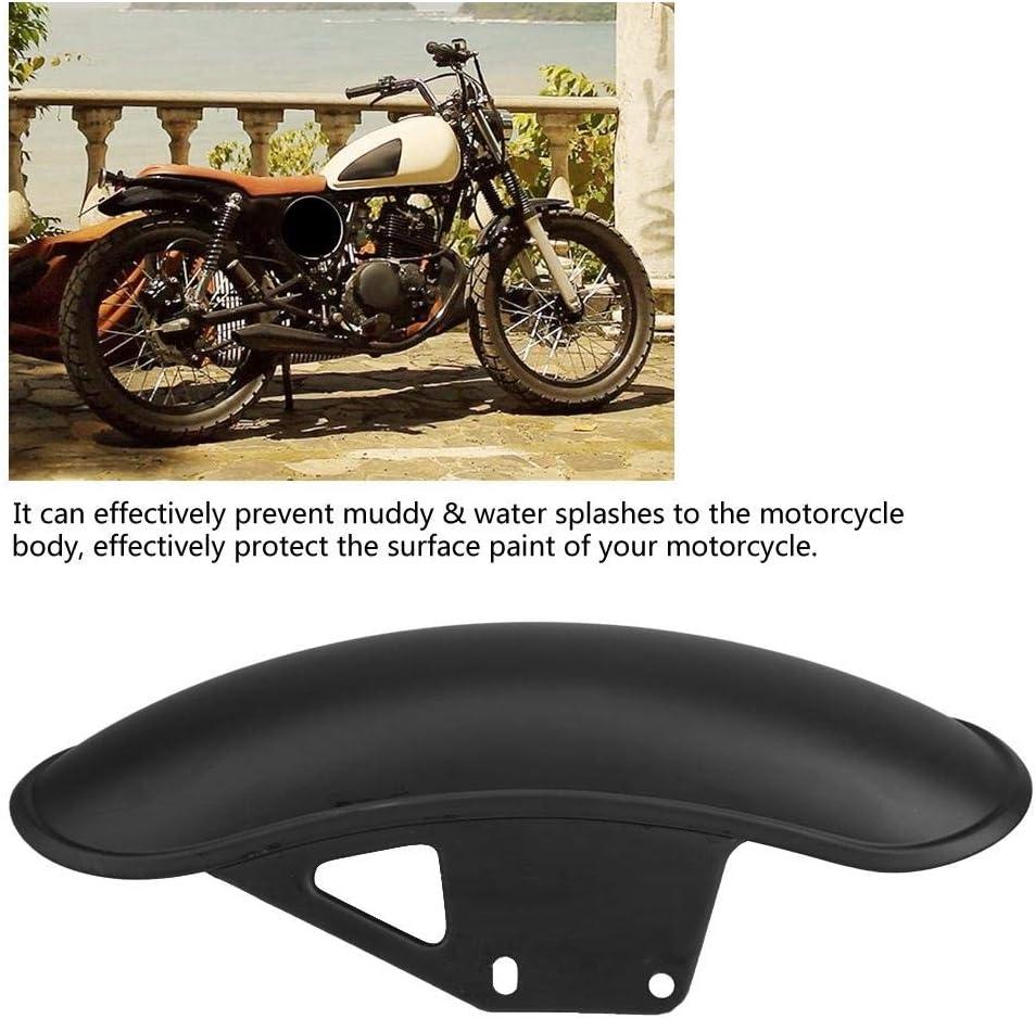 Kotfl/ügelschutzverkleidung Kotfl/ügelabdeckung f/ür Suzuki GN125 GN250. Schwarz und Chrom 1 ST/ÜCK Motorrad-Vorderradschutzblech Outbit Kotfl/ügel Farbe : Black