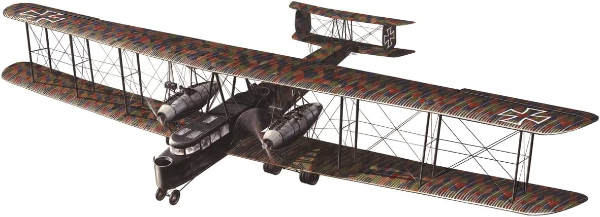 055/Kit mod/èle Zeppelin Berlin-staaken R. VI Roden