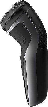 Philips Serie 1000 S1332/41 - Afeitadora eléctrica para hombre con cuchillas PowerCut, cortapatillas desplegable para bigote y patillas, 45 min de afeitado, con o sin cable