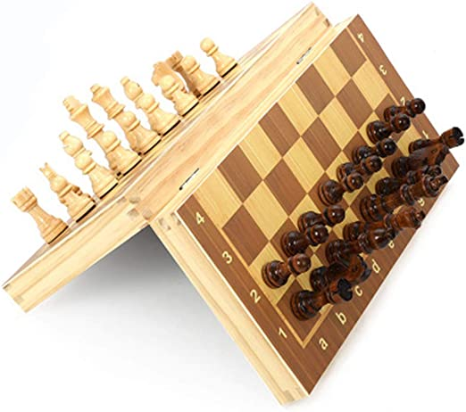 MANTIAN Caja de Pintura Ambiental de Madera de ajedrez Plegable ...