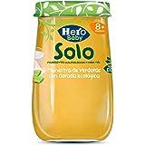 Hero Solo - Tarrito Eco de Menestra de Verduras y Dorada para Bebés a Partir de los 8 Meses - Pack de 12 x 190 g