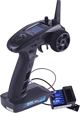 FS-BS6 Empfänger für RC Auto Boot Fernbedienung FlySky FS-GT5 2.4G 6CH Sender