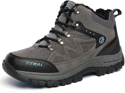 Invierno Caliente Zapatos de Trekking Deportes de Exterior ...