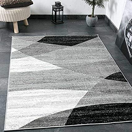 Vimoda, tappeto da salotto moderno, con motivo geometrico a righe ...