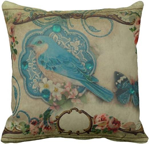 Amazon.com: Emvency Throw Pillow Cover English Elegant Flourish