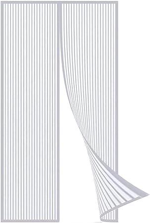 Coedou Zanzariera Magnetica per Porte 155 x 230 cm Zanzariera Magnetica Impedendo agli Insetti di Entrare