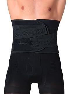 fe145d72eca Panegy Men s Waist Lumbar Trainer Girdle Beer Belly Trimmer Adjustable  Shapewear