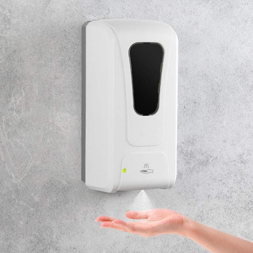 Dispenser Igenizzante Mani Dispenser Sapone Automatico 4 Batterie C Non Incluse o DC 6V 1A UV Sensore Automatico Dispenser Gel Disinfettante Mani Erogatore Gel Disinfettante Mani 1000ml