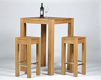 Barhocker Und Tisch bartisch 2 barhocker hochtisch bistrotisch stehtisch