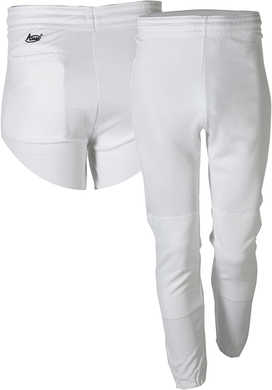 Size: X-Large, White Adams IP-BEP Youth Baseball Pant