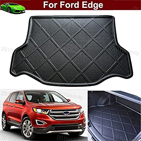 Car Boot Pad Carpet Cargo Mat Cargo Liner Trunk Liner Tray Floor Mat For Ford Edge