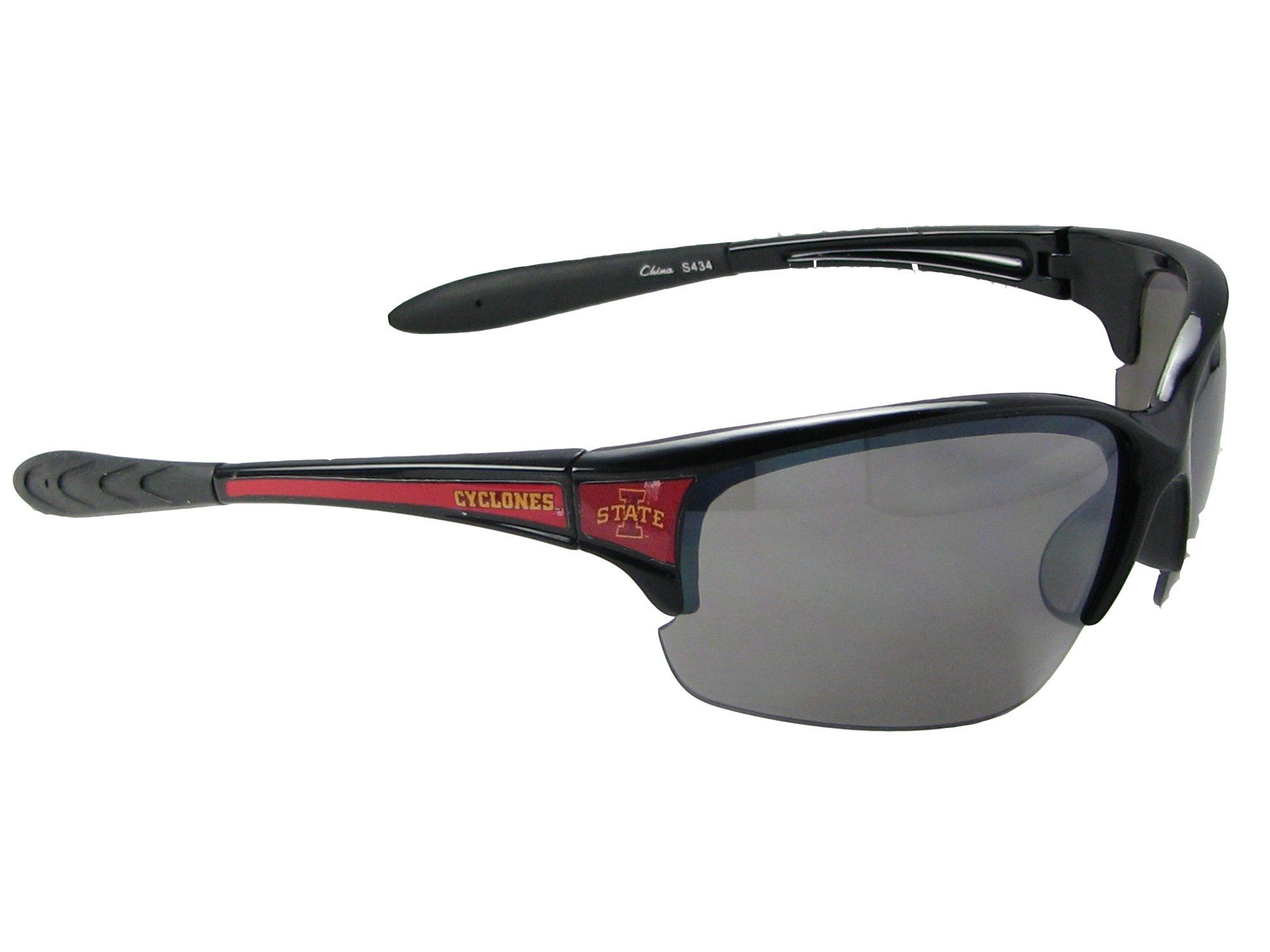 Sports Accessory Store Iowa State Cyclones Black Red Elite Sunglasses ISU Licensed NCAA S7JT
