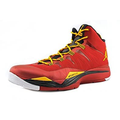 competitive price c42fe eda3c Image Unavailable. Image not available for. Color  Air Jordan Super.Fly 2 -  Gym Red ...