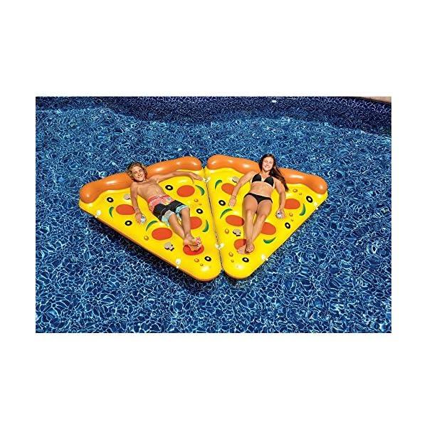 YGJT Piscina Galleggiante Pizza Gigante Slice Pool Letto Galleggiante Cuscino Gonfiabile del PVC per Lo Sport Acquatico… 4 spesavip